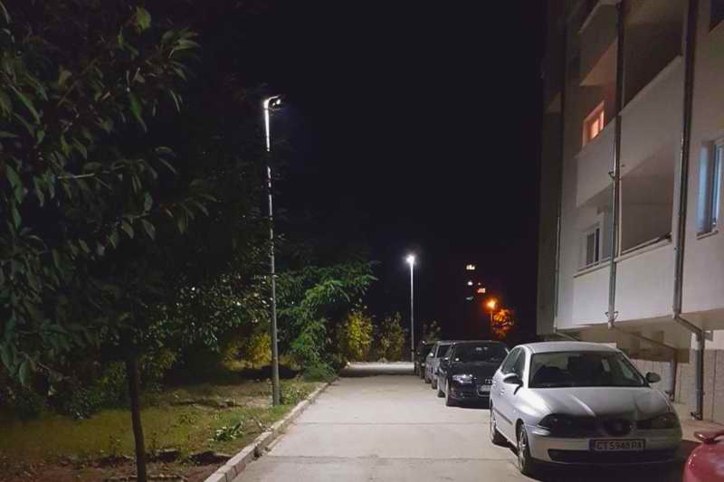 LED street light Kazanluk, Bulgaria